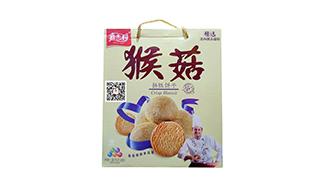 嘉士利猴菇饼干