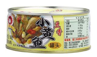 小黄鱼罐头