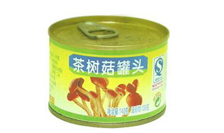茶树菇罐头做法