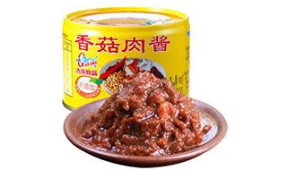 香菇肉酱罐头