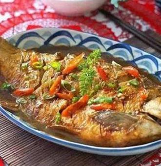 大厨教你红烧鲳鱼的做法