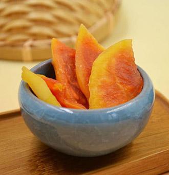 木瓜干的工艺流程