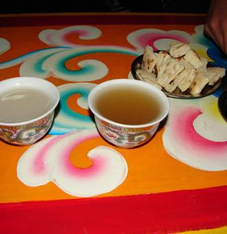 酥油茶食用