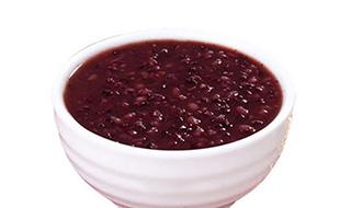 紫薯黑米粥