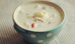 花生牛奶粥