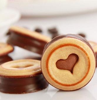 巧克力�A心�干的做法步�E