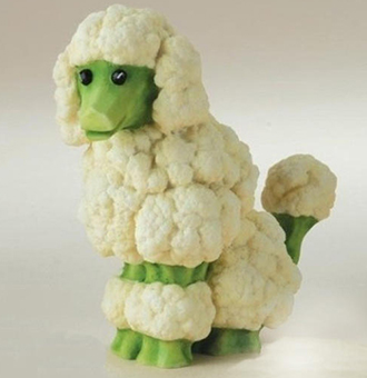 花椰菜的背景
