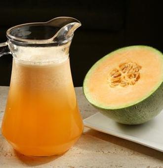 哈密瓜汁怎么做?