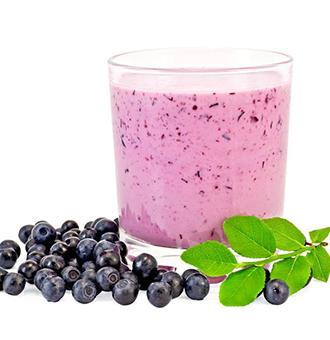 蓝莓奶昔的做法