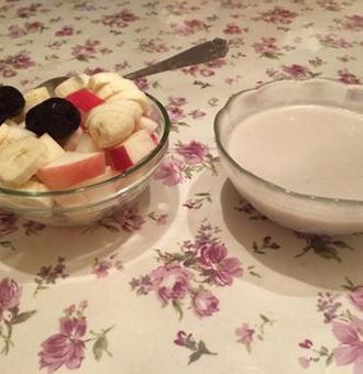 �O果奶昔制作方法