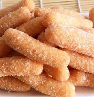 面粉版的江米�l做法,酥脆好吃,口�X留香