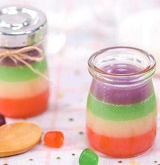 童年超爱的橡皮糖竟然能做布丁?还非常简单!