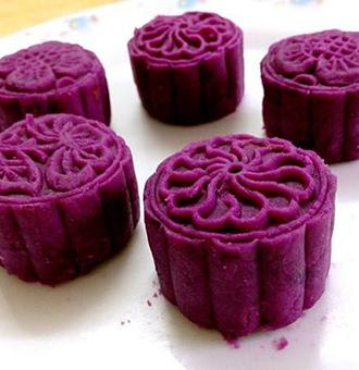 吃货的福利,爱吃紫薯红豆糕的快收藏!
