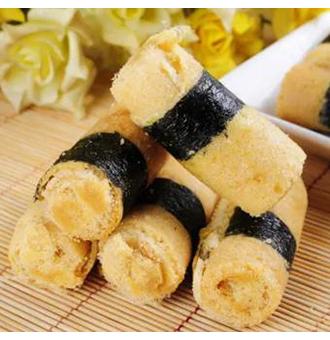 肉松海苔卷,不用烤,不用蒸,高颜值超美味