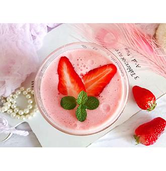 怎么做草莓酸奶昔