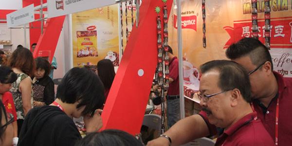 马来西亚丽津白咖啡参展第四届北京进口食品展IF China 2014