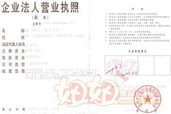 温州修文食品有限公司营业执照