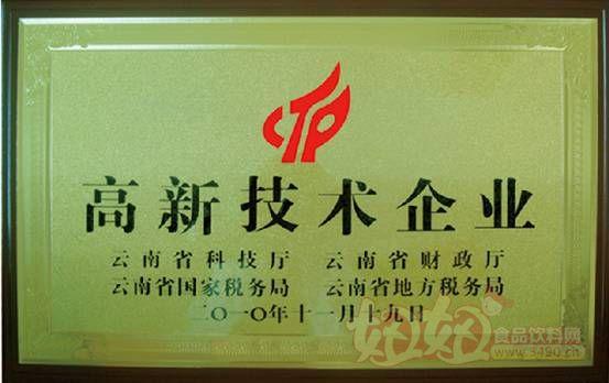 云南大理洱宝-高新技术企业