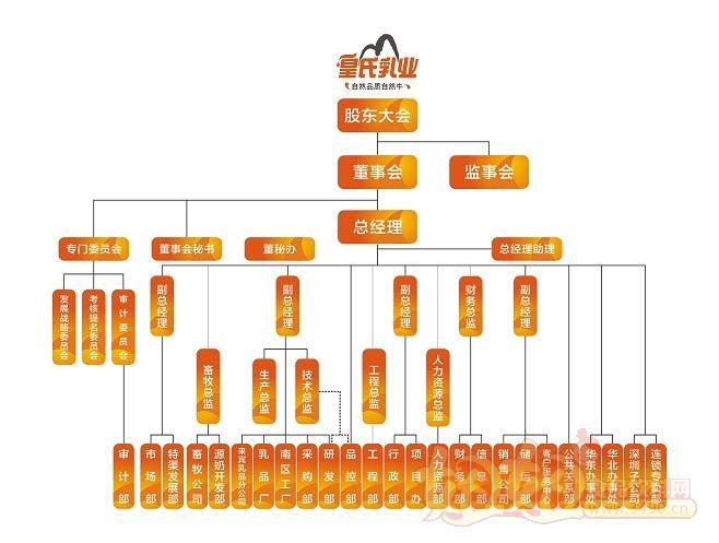 份有限公司组织机构图