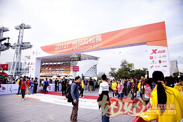 红罐王老吉成为2012年广州马拉松赛上唯一凉茶健康饮品赞助商