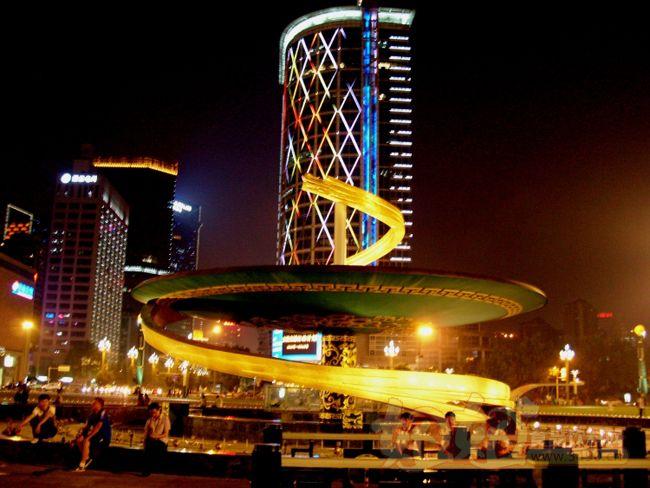成都市区中心——天府广场