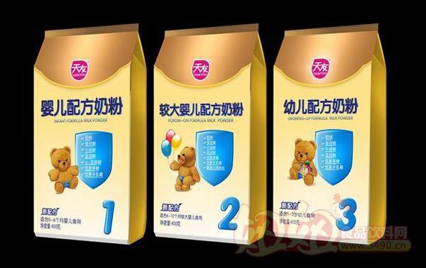 """82家婴幼儿配方乳粉企业通过""""史上最严""""审核 天友乳业"""