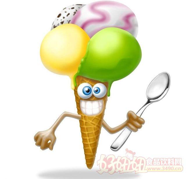 这个卡通冰淇淋图片让人想起了萝卜白菜各有所爱的广告语