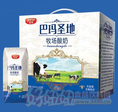 京天巴玛圣地牧场酸奶