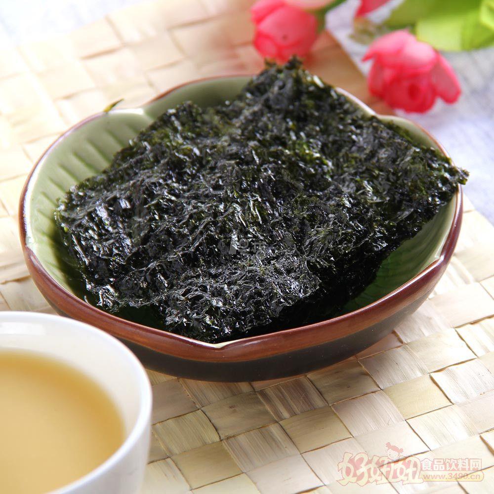 韩国调味海苔对华出口持续增加