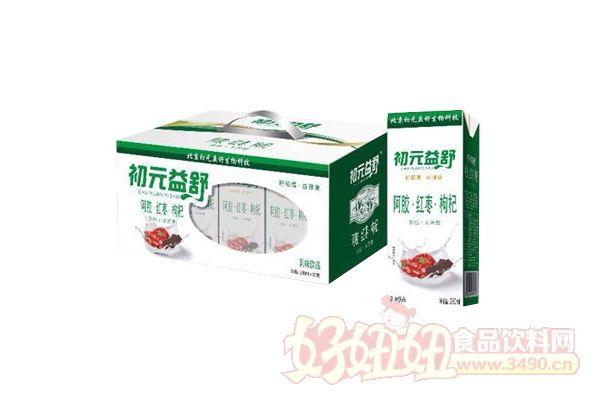 初元益舒阿胶红枣枸杞乳味饮品