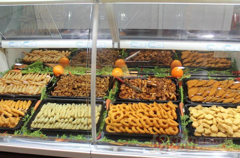 幼儿园区域超市熟食