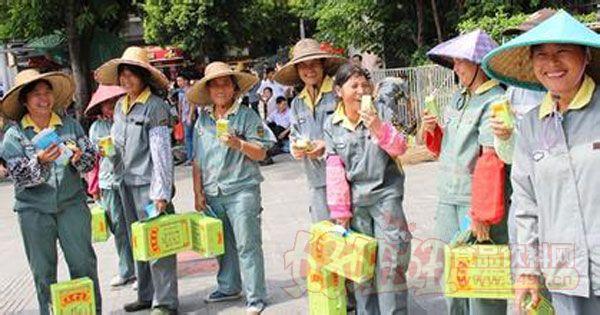 绿盒王老吉关爱烈日下最可爱的人公益性活动
