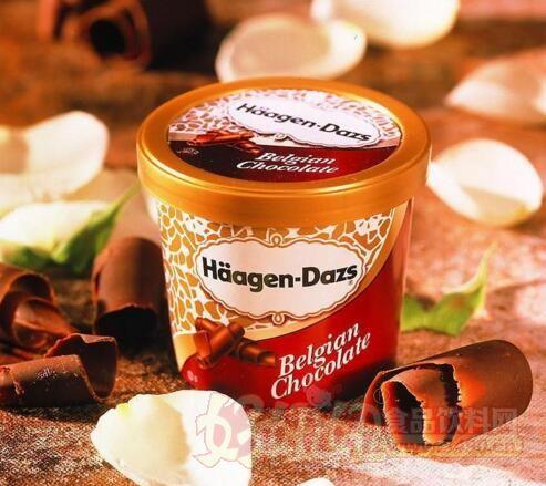 """""""目前在整个中国的高端冰淇淋市场,还是以哈根达斯为主.图片"""