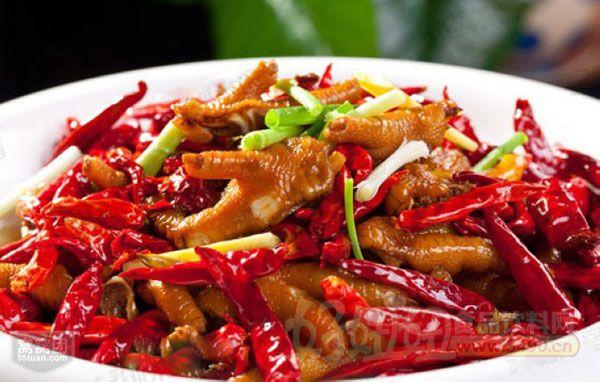 > 辣到勁爆的香辣雞爪     主料:雞爪一斤      輔料:紅辣椒適量,姜一圖片