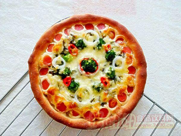 披萨的制作步骤