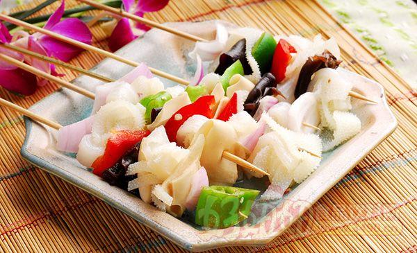 """来说说串串香的配料及做法,自己 四川以""""火锅"""