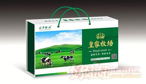 牛皮纸江中米包装设计