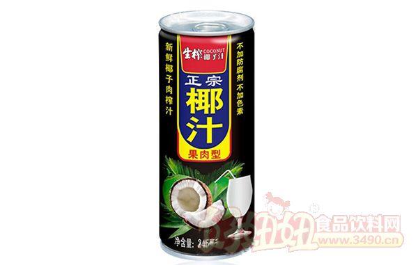 焦国堂生榨椰子汁果肉型