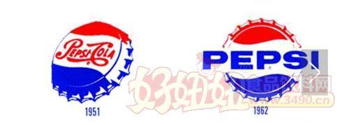 """百事可乐logo百年""""进化史"""""""