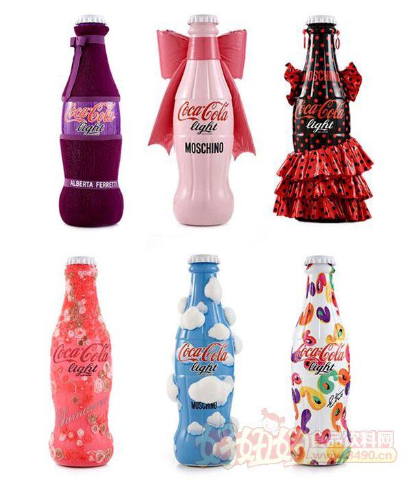 設計師將他們的代表符號放到了可口可樂的限量款瓶子