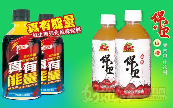 真有能量维生素饮料、保卫山楂果肉果汁饮料