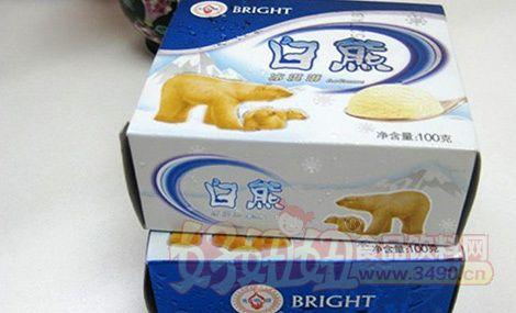 光明推出新产品冰淇淋