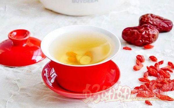 红枣枸杞泡水喝的功效与作用