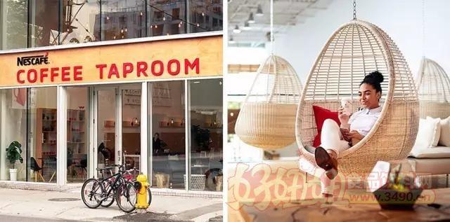 雀巢新开咖啡店 却不出售咖啡