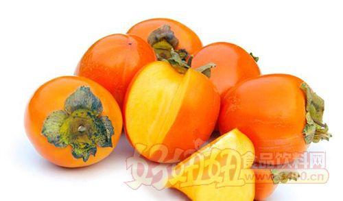 水果简笔画柿子树叶