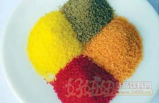 哪些食品允许添加食品色素