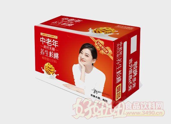 昌露中老年高钙无糖养生核桃露箱装