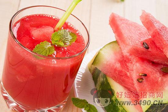 西瓜和西瓜汁