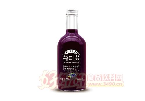 益可滋复合乳酸菌蓝莓汁330ml