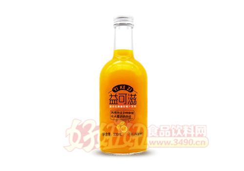 益可滋复合乳酸菌甜橙汁330ml
